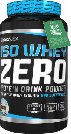 Image of Iso Whey Zero Tiramisu 908 Grams - Protein Powder Biotech USA