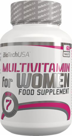 Image of Multivitamin for Women 60 Tablets - Women's Multivitamins Biotech USA