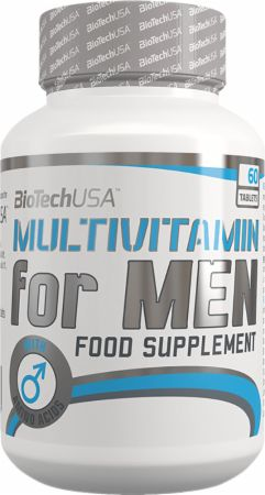 Image of Multivitamin for Men 60 Tablets - Men's Multivitamins Biotech USA