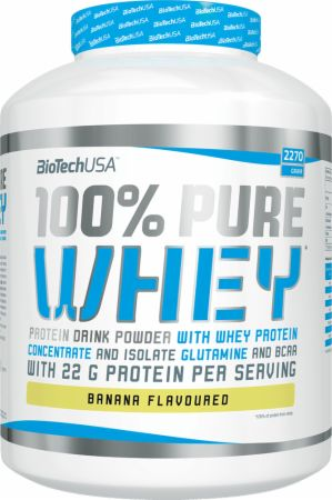 Image of Biotech USA 100% Pure Whey 2270 Grams Banana