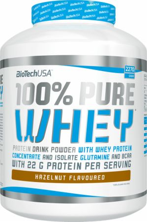 Image of Biotech USA 100% Pure Whey 2270 Grams Hazelnut