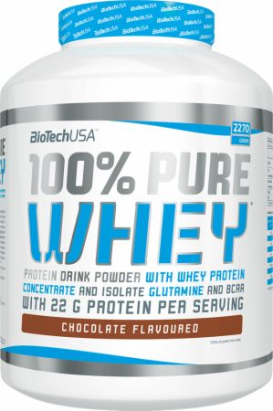 Image of Biotech USA 100% Pure Whey 2270 Grams Chocolate