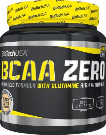 Image of BCAA Zero Peach Ice Tea 360 Grams - Amino Acids & BCAAs Biotech USA