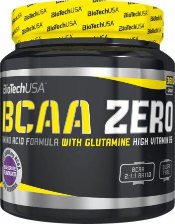 Image of BCAA Zero Blue Grape 360 Grams - Amino Acids & BCAAs Biotech USA