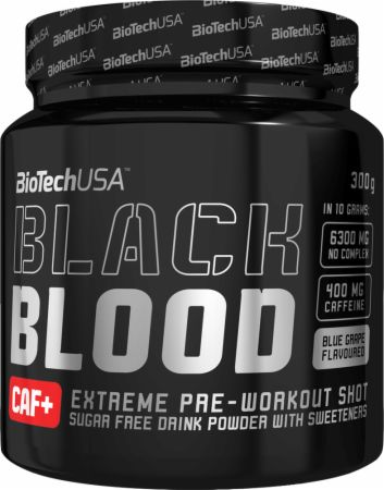 Image of Black Blood Blue Grape 300 Grams - Pre-Workout Supplements Biotech USA