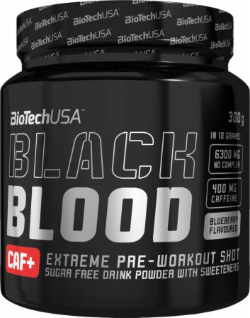 Image of Black Blood Blueberry 300 Grams - Pre-Workout Supplements Biotech USA
