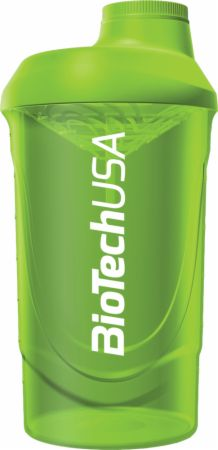 Image of Wave Shaker Grass Green 600 ml - Shaker Bottles Biotech USA