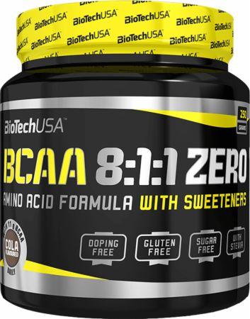 Image of BCAA 8:1:1 Zero Cola 250 Grams - Amino Acids & BCAAs Biotech USA