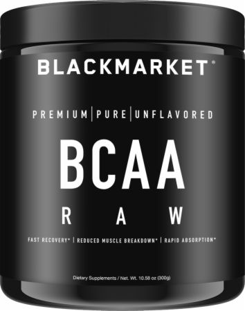 Image of RAW BCAA Unflavored 300 Grams - Amino Acids & BCAAs Blackmarket