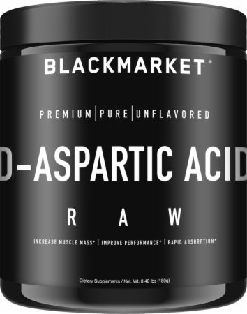 Image of RAW D-Aspartic Acid Unflavored 180 Grams - Testosterone Support Blackmarket