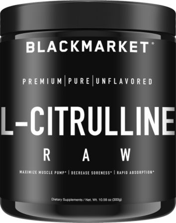 Image of RAW L-Citrulline Unflavored 300 Grams - Nitric Oxide Boosters Blackmarket