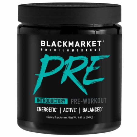 Image of PRE Pre Workout Blue Razz 30 Servings - Pre-Workout Blackmarket