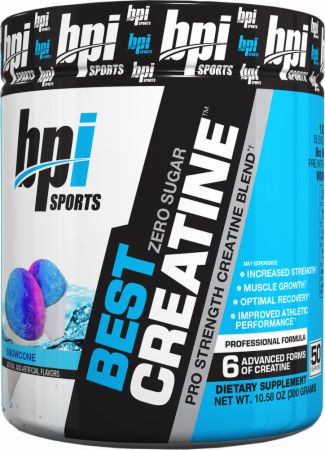 Image of BPI Sports Best Creatine 50 Servings Snowcone