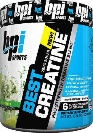 Image of BPI Sports Best Creatine 50 Servings Lime Sherbet