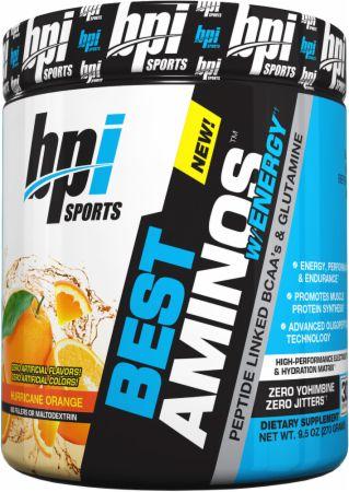 Image of BPI Sports Best Aminos w/Energy 300 Grams Hurricane Orange