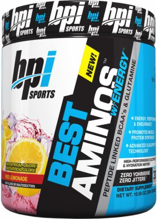 Image of BPI Sports Best Aminos w/Energy 300 Grams Red Lemonade
