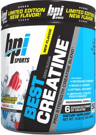 Image of BPI Sports Best Creatine 50 Servings Rainbow Ice