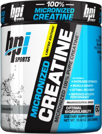 Image of BPI Sports Micronized Creatine 300 Grams Unflavored