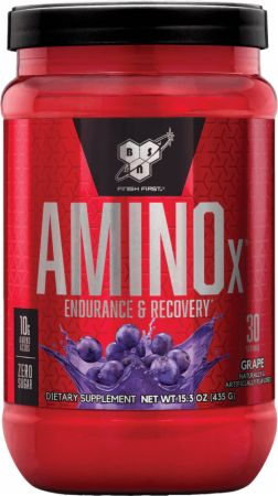 Image of AMINOx BCAA Grape 30 Servings - Amino Acids & BCAAs BSN
