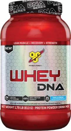 BSN Whey DNA Vanilla Cream 25 Servings - Protein Powder