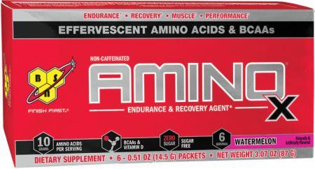 BSN AMINOx Watermelon 6 Packets - Amino Acids & BCAAs