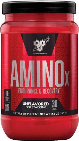BSN AMINOx Unflavored 30 Servings - Amino Acids & BCAAs...