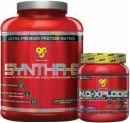 BSN Syntha-6 + N.O. Xplode Bundle