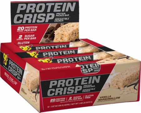 Protein Crisp Protein Bars