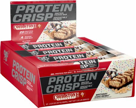 The convenient protein bars on the go