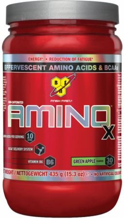 Image of AMINOx Green Apple 30 Servings - Amino Acids & BCAAs BSN