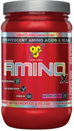 Image of AMINOx Watermelon 30 Servings - Amino Acids & BCAAs BSN