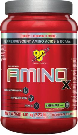 Image of AMINOx Green Apple 70 Servings - Amino Acids & BCAAs BSN
