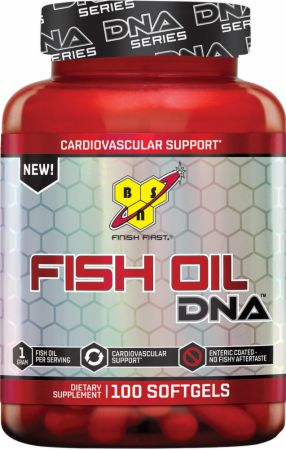 Image of BSN Fish Oil DNA 100 Softgels
