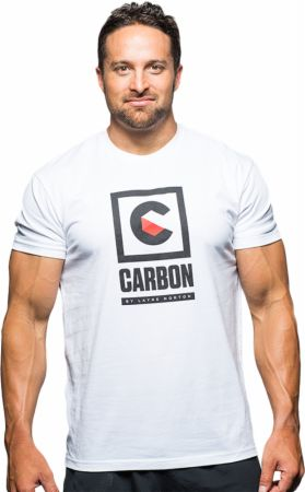 Image of Carbon by Layne Norton Carbon Tee 2XL White