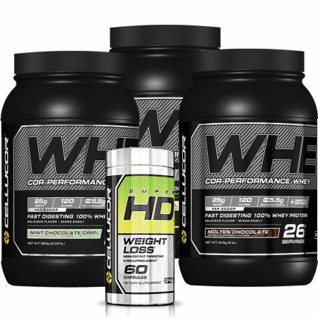 Whey Performance 6lb Bundle + Super HD