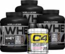 Cellucor Whey Performance Stack 4 Lbs. + C4
