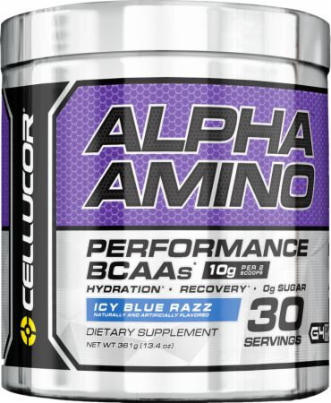 Image of Alpha Amino Icy Blue Razz 30 Servings - Amino Acids & BCAAs Cellucor