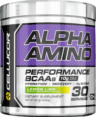 Image of Alpha Amino Lemon Lime 30 Servings - Amino Acids & BCAAs Cellucor