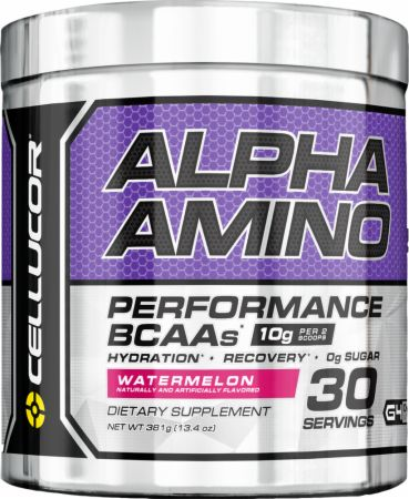 Image of Alpha Amino Watermelon 30 Servings - Amino Acids & BCAAs Cellucor