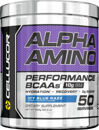Image of Cellucor Alpha Amino 50 Servings Icy Blue Razz