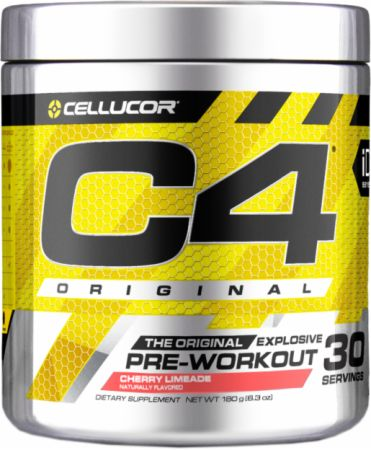 Cellucor C4 Original Pre Workout Powder Energy Drink Supplement For Men & Women with Creatine, Caffeine, Nitric Oxide Booster, Citrulline & Beta Alanine