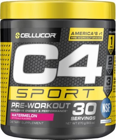 Image of C4 Sport Watermelon 30 Servings - Pre-Workout Cellucor