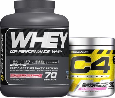 C4 + Cor Whey Bundle
