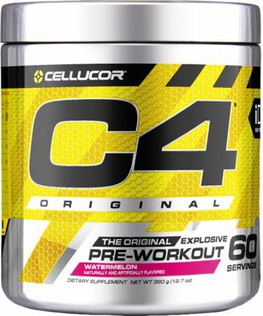 Cellucor C4 Original Pre Workout Powder Energy Drink Supplement For Men & Women with Creatine, Caffeine, Nitric Oxide Booster, Citrulline & Beta Alanine