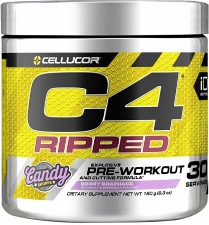 Cellucor C4 Ripped Pre Workout Powder Energy Drink for Men & Women with Green Coffee Bean Extract