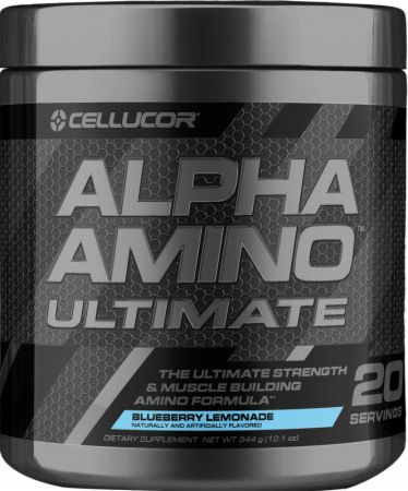 Image of Alpha Amino Ultimate Blueberry Lemonade 20 Servings - Amino Acids & BCAAs Cellucor
