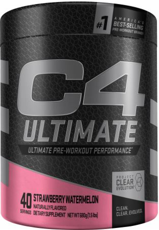C4 Ultimate Clear Evolution Pre-Workout