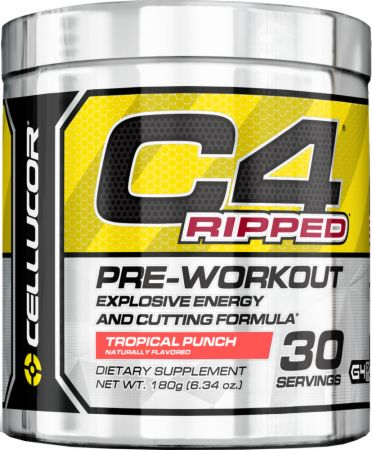 Image of Cellucor C4 Ripped 30 Servings Tropical Punch