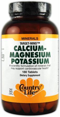 Country Life Calcium Magnesium Potassium