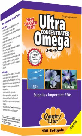 Country Life Ultra Concentrated Omega 3-6-9 の BODYBUILDING.com 日本語・商品カタログへ移動する